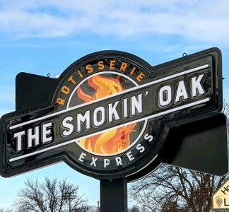 SmokinOakExpressSign
